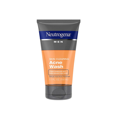 Neutrogena Skin Clearing Acne Wash For Men 150ml