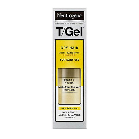 Neutrogena T-Gel Dry Hair Anti-Dandruff Shampoo 250ml