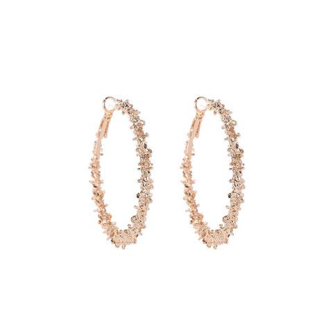 New Big Circle Round Hoop Earrings for Women