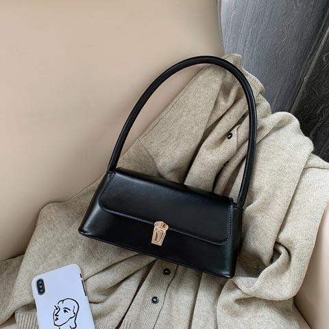 New Trendy Fashion French Niche Shoulder Bag (1001018)