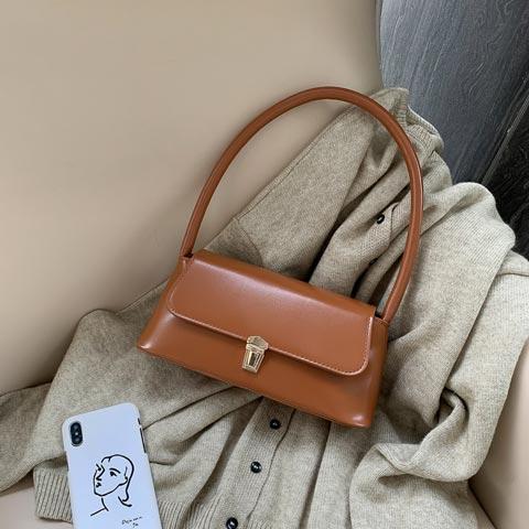 New Trendy Fashion French Niche Shoulder Bag (1001019)