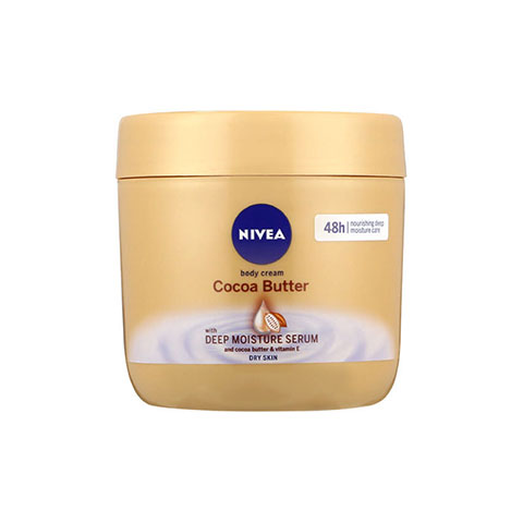 Nivea Cocoa Butter 48h Body Cream With Deep Moisture Serum 400ml