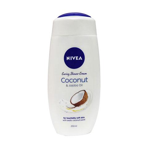 Nivea Coconut & Jojoba Oil Caring Shower Cream 250ml