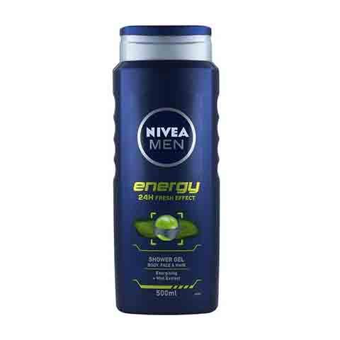 Nivea Men Energy 24h Fresh Effect Shower Gel 500ml