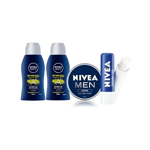 Nivea Men Mini Skincare Travel Set
