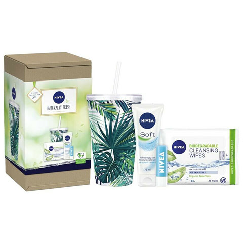 Nivea Naturally Fresh Gift Set - 4 pcs