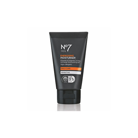 No7 Men Energising Moisturiser 15 Spf Daily Care 50ml - Sensitive