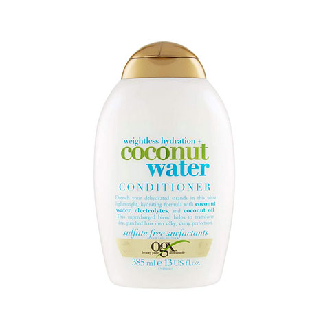 OGX Weightless Hydration + Coconut Water Conditioner 385ml
