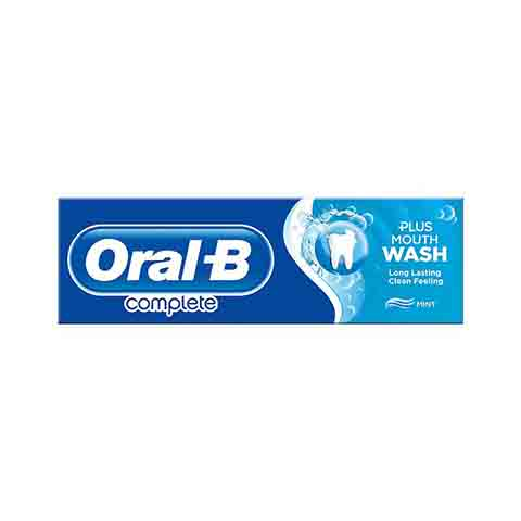 Oral-B Complete Toothpaste Plus Mouth Wash 75ml