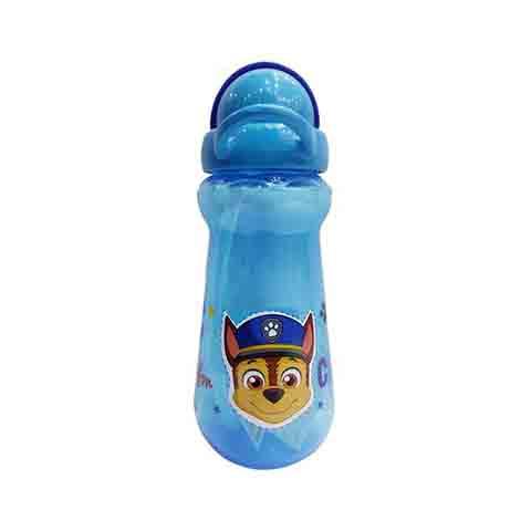 Paw Patrol Straw Sipper Drinks Bottle 400ml - Blue