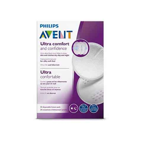 Philips Avent Ultra Comfort Disposable Day & Night Breast Pads 24pk (5775)