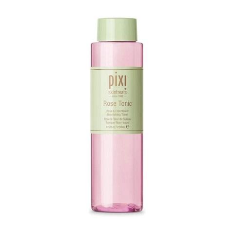 Pixi Skintreats Rose Tonic Rose & Elderflower Nourishing Face Toner 250ml
