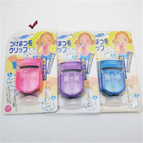 Portable Mini Eyelash Curler - Pink