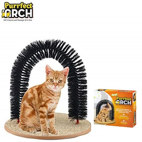 Purrfect Arch Self-Groomer And Massager All In One (20228)