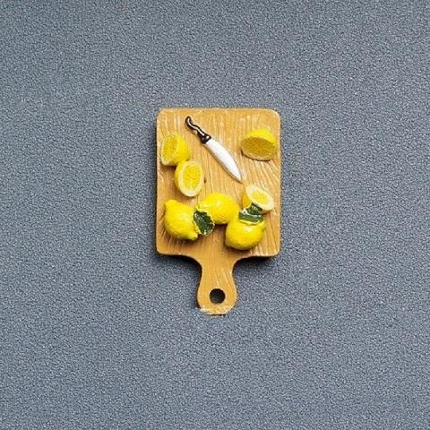 Refrigerator Magnet Resin Decorative 3D Stickers - Chopper
