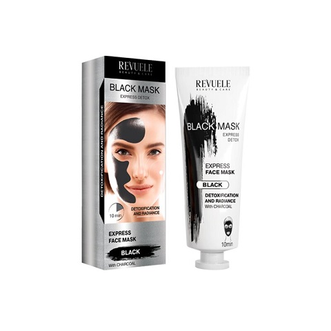 Revuele Beauty & Care Express Detox Black Face Mask 80ml