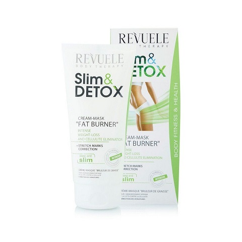 Revuele Slim & Detox Cream Mask Fat Burner For Intense Weight Loss 200ml