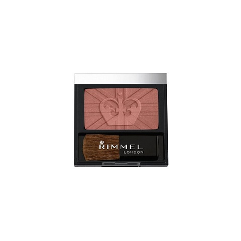 Rimmel London Lasting Finish Soft Colour Blush With Brush - 220 Madeira