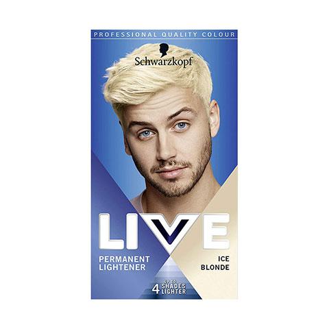 Schwarzkopf Live Permanent Lightener Hair Colour - 00B Ice Blonde