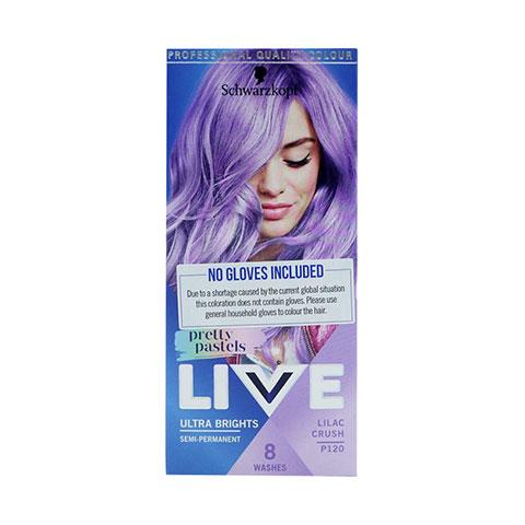 Schwarzkopf Live Ultra Brights Pretty Pastels Semi-Permanent - P120 Lilac Crush