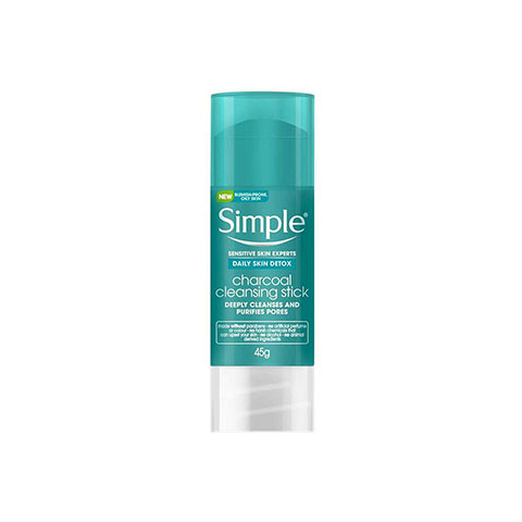 Simple Daily Skin Detox Charcoal Cleansing Stick 45g
