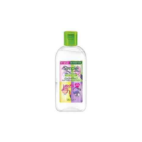 Simple Kind To Skin Dual - Effect Eye Make Up Remover 125ml