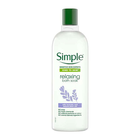 Simple Kind To Skin Sensitive Skin Experts Relaxing Bath Soak 400ml