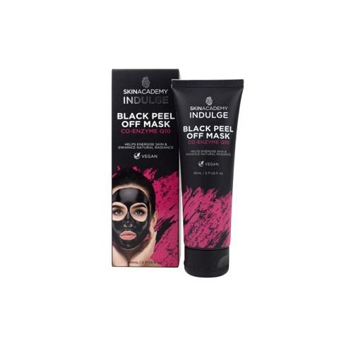 Skin Academy Indulge Black Peel Off Mask Co-Enzyme Q10 80ml