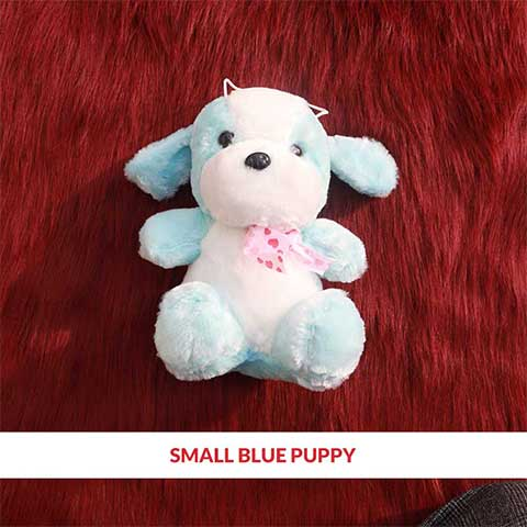 Small Blue Puppy