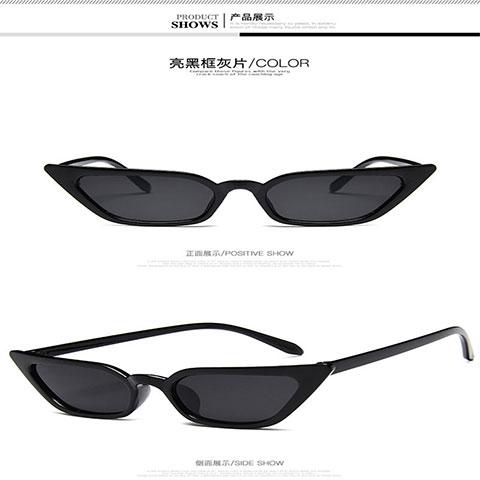 Small Frame Cat Eye Sunglasses