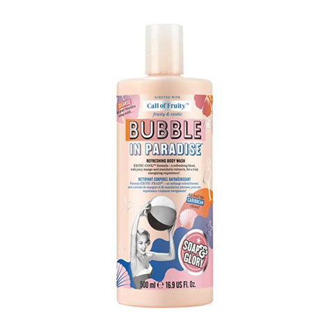 Soap & Glory Call Of Fruity Bubble In Paradise Refreshing Body Wash 500ml