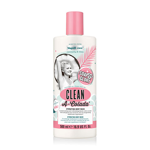 Soap & Glory Clean A-Colada Hydrating Body Wash 500ml
