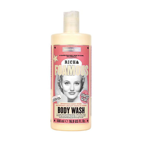 Soap & Glory Rich & Foamous Dual-Use Shower & Bath Smoothing Body Wash 500ml