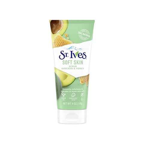 St. Ives Soft Skin Avocado & Honey Scrub 170g