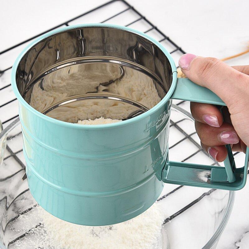 Stainless Steel Handheld Flour Sieve Baking Tools