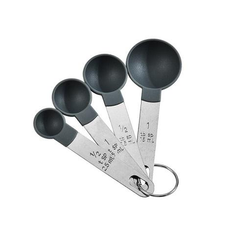 Stainless Steel Measuring Spoon Set - 4pcs (1001089)