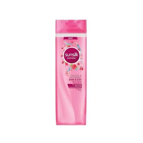 Sunsilk Natural Sakura & Raspberry Shine & Soft Shampoo 380ml