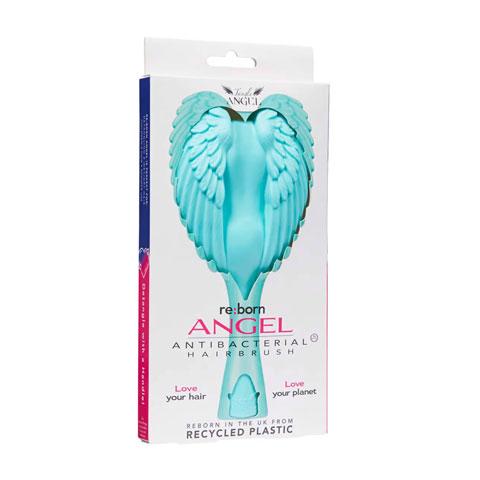 Tangle Angel Reborn Angel Antibacterial Hair Brush - Aqua