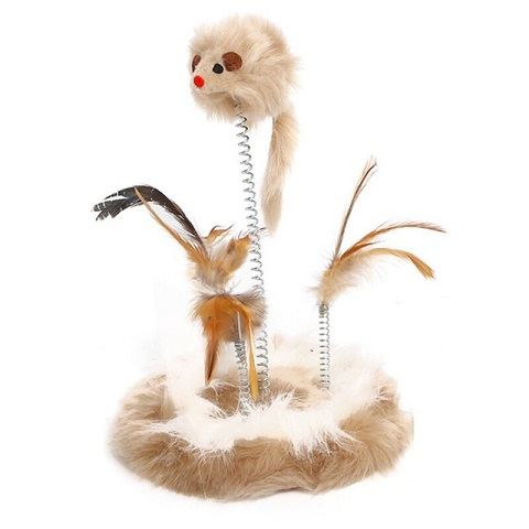 Taotao Pets Spring Mouse Funny Cat Toy Climbing Frame (20234)