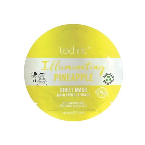 Technic Illuminating Pineapple Sheet Mask 23g