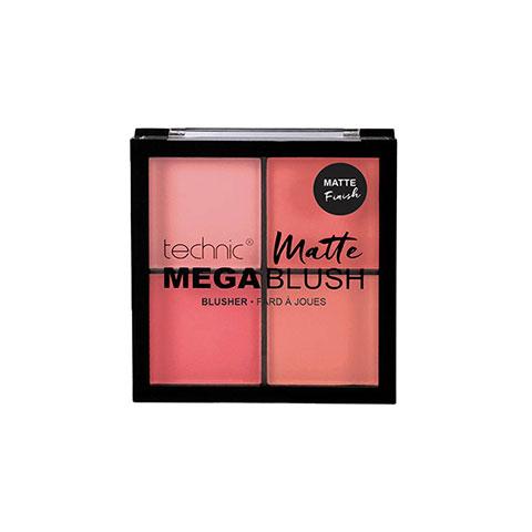 Technic Matte Mega Blush Blusher Palette - Fard A Joues