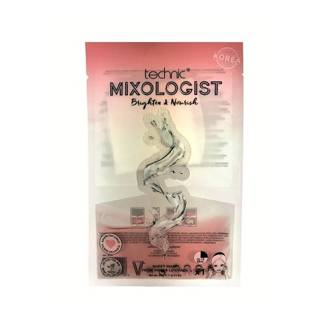 Technic Mixologist Brighten & Nourish Sheet Mask 20g
