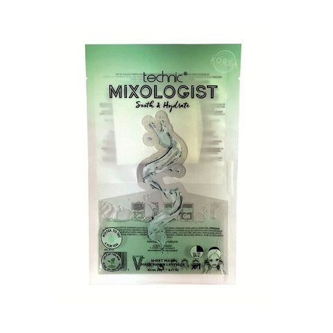 Technic Mixologist Sooth & Hydrate Sheet Mask 20g