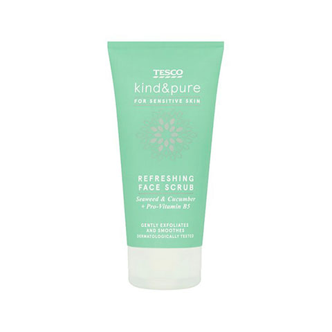 Tesco Kind & Pure Refreshing Face Scrub 150ml