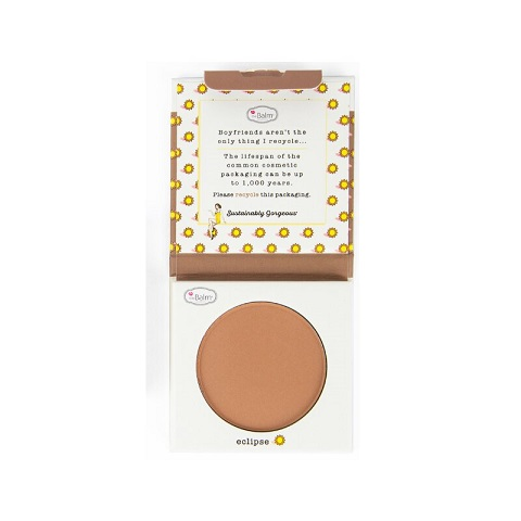 The Balm Sustainably Gorgeous Bronzer & Contour 6g - Eclipse