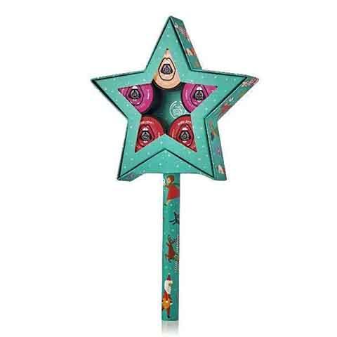 The Body Shop Born Lippy Festive Star Gift Set