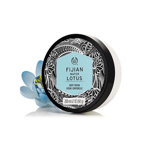 The Body Shop Fijian Water Lotus Body Cream 200ml