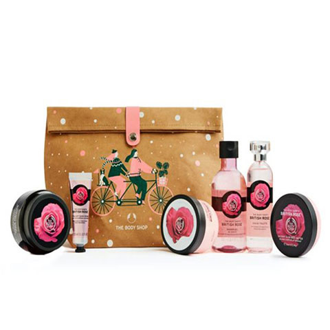 The Body Shop Glowing British Rose Ultimate Gift Bag