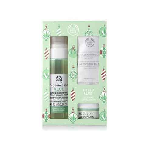 The Body Shop Hello Aloe Soothing Skincare Kit Gift Set
