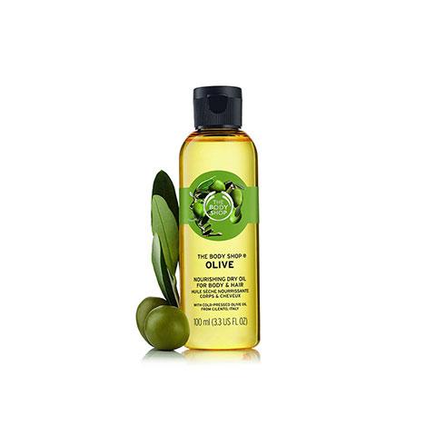 The Body Shop Olive Nourishing Dry Oil for Body & Hair 100ml